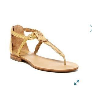 Jack Rogers Jenna Braided Thong Sandal size 8.5